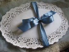 """25 PCS 8 X  12"""" INCH OVAL WHITE PAPER LACE DOILY NORMANY FANCY WEDDINGS CRAFTS"""