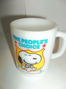 SNOOPY 1968 THE PEOPLES CHOICE CUP