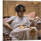 ARTCANVAS Cleopatra 1867 Canvas Art Print by John William Waterhouse