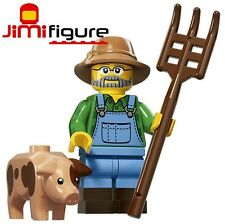 NEW LEGO Minifigures Farmer Series 15 71011 Pig Genuine Minifigure Mini Figure