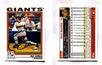 Rich Aurilia Signed 2004 Topps #225 Card San Francisco Giants Auto Autograph