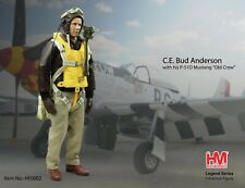 """Hobby Master HF0002, Col. C.E. Bud Anderson American """"Triple Ace"""" Fighter Pilot"""
