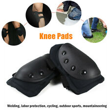 1Pair Hard Shell Knee Pads Brace Support Pads For Construction Gardening Safety