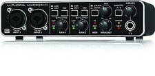 BEHRINGER UMC204HD USB audio interface 24-Bit/192kHz Free Shipping from JAPAN