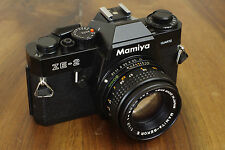 MAMIYA ZE-2 Quartz appareil photo argentique 35mm film DSLR + E 50mm 1.7 1:1.7