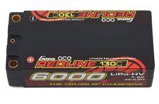 Gens Ace 6000mah 7.6v hv shorty Redline 2S 130C LiHV lipo Battery  w/5mm Bullets