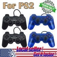 US 1x / 2x Twin Shock Game Controller Joypad Pad for Sony PS2 Playstation 2 xi