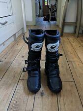 Motorcross boots 10