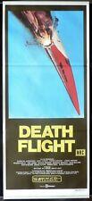 DEATH FLIGHT Original Daybill Movie Poster Peter Graves TV Supersonic Jet crash