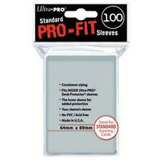 ULTRA PRO Card Sleeves Pro-Fit Standard 64 x 89 100ct MTG Pokemon Dragon Ball
