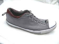 Converse gray sneakers mens tennis sneakers low tops shoes sz 12M womens 14M