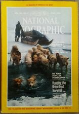 National Geographic mag. April 1984 No Map, California Mid-Coast Norwhal Hunters