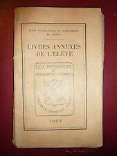 Ancien livre Ecole préparatoire de gendarmerie DE Mamers french antique book