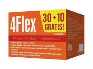 4 Flex 30+10 sachets COLLAGEN HYDROLYZATE FORTIGEL