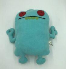 Uglydoll Uglybot plush Blue With Red Eyes Green Teeth