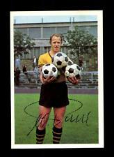 Wolfgang Paul Borussia Dortmund Bergmann sammelbild 1965/66 ORIGINALE FIRMATO