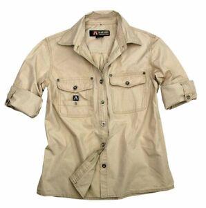 Sonderposten | Safari Herrenhemd Concord in beige