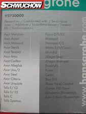 hansgrohe Keramik Kartusche M3 M2 92730 Sportive 92730000 Axor Mondaro Allegroh