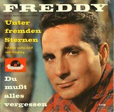 "7"" Freddy – Unter fremden Sternen / Erstpressung - Rares Cover // Germany 1959"