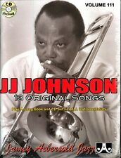 Jamey Aebersold - JJ Johnson: 13 Original Songs [New CD] With Book