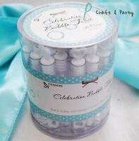 36 Heart Wedding Bubbles Wand Bottles Tubes Favors Decorations Favour Lot