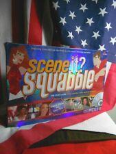 NIB GAME FOR MEN AGAINST WOMEN SCENE IT? SQUABBLE DVD GAME FUN GIFT   # 6005