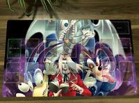 HOT Yu-Gi-Oh! Playmat Yugioh Blue-eyes Toon Dragon CCG TCG Card Game Mat & Bag