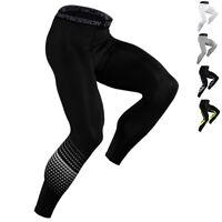 Mens Sports Compression Long Pants Workout Skin Base Layers Running Legging Slim