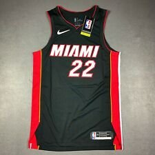100% Authentic Jimmy Butler Nike 2020 Icon Heat Jersey Size 44 M Mens
