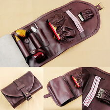 Leather Tobacco Smoking Pipe Pouch Bag Organize Pipe Tool lighter Holder Pocket