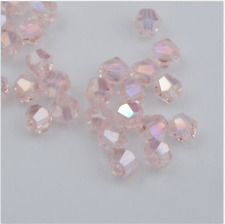 swarovski Crystal 4mm 5301# Bicone Beads pink ab 500pcs