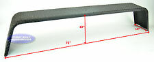 "(2)- Steel 14 Gauge Diamond Tread Plate Tandem Axle Trailer Fenders 10""x72""x13"""