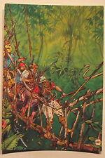 Carte postale Le lac des emeraudes,Gir,Giraud,Moebius  postcard