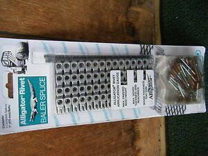 "Round Hay Baler Belt repair rivet 7"" lace Splice  Flexco Alligator ARJ7/175"