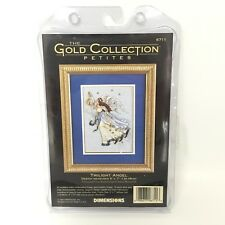 DIMENSIONS 1996 Gold Collection Twilight Angel Cross Stitch Kit 6711 5x7''
