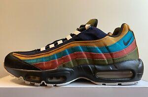 "Nike Air Max 95 ""By You ID"" Denim Men's Sz 11.5 Multicolor DM1182-991 NoLid"