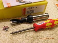 Sandvik 12 mm Spade Perceuse 870-1200-10L16-3 Embouts Perceuse plus 12 mm Insert NEUF