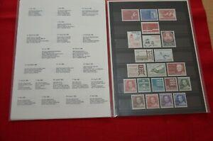Dänemark Jahreszusammenstellung 1982 - postfrisch