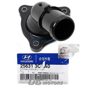 ⭐GENUINE⭐ Cooling Water Inlet for 11-20 Kia Cadenza Sedona Sorento V6 256313CAA0