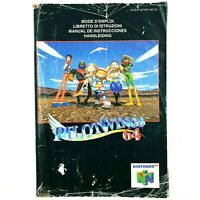 Notice jeu N64 Pilotwings 64 Nintendo 64 Livret Instruction Manuel PAL NEU