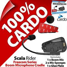 Cardo Scala Rider Boom Mic Microphone Cradle Freecom 1 2 3 4 Helmet Intercom