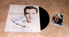 Patricia Kaas, ORIGINAL SIGNED LP-Cover * MADEMOISELLE CHANTE * + LP