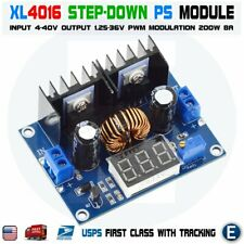 XL4016 LED PWM 4-36V to 1.25-36V Step-Down Buck Power Supply Module XH-M404