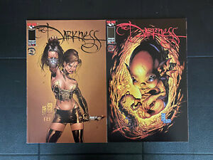 The Darkness Vol 1 #11, 12 Top Cow/Image Comics 1998 NM Ennis Silvestri