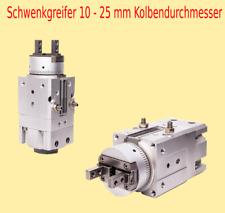 Pneumatik Schwenkgreifer MRHQ  90°  180° Ø 10mm / 16mm / 20mm / 25mm Kolben Ø