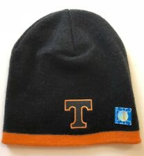Ncaa Tennessee Volunteers Team Logo Winter Knit Cap Hat Beanie Black One Size