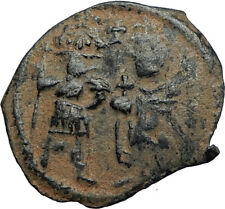 Heraclius & Son H Constantine Rare Early Arab Byzantine Ancient Coin i67237