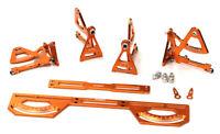Integy Aluminum Universal Setup Station System ORANGE 1/10 Touring Car / Drift