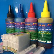 ECOFILL Printer Ink REFILLABLE Cartridge For Epson Expresion Home XP 332 335 342