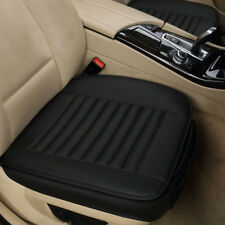 Auto Sitzauflage Sitzbezüge Sitzkissen Bambus Sitzmatte PU Leder Sitzkissen
